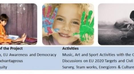 """""""Sokakta Çalışan Çocuklar İçin Parlak Bir Gelecek"""" Gençlik Değişimleri Projesi"""
