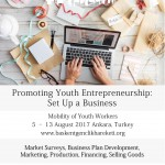 Poster Promoting Youth Entrepreneurship